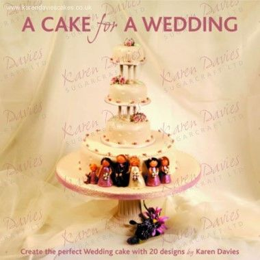 Karen Davies - Book - A Cake for a Wedding