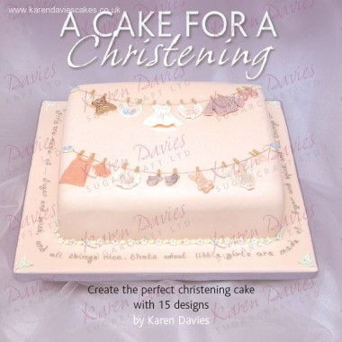 Karen Davies - Book - A Cake for a Christening