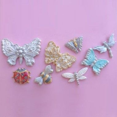 Karen Davies - Moulds - Butterfly and Insect Brooch