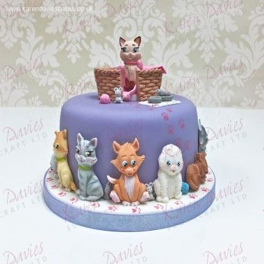 Karen Davies - Moulds - Cats by Alice