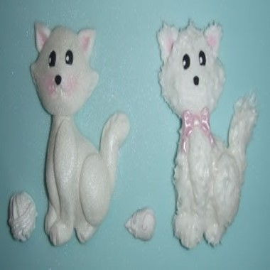 Karen Davies - Moulds - Cat