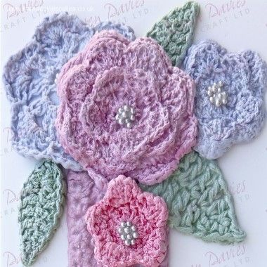 Karen Davies - Moulds - Crochet Flowers and Leaves