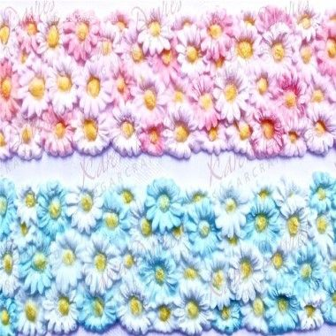Karen Davies - Moulds - Daisy Border by Alice