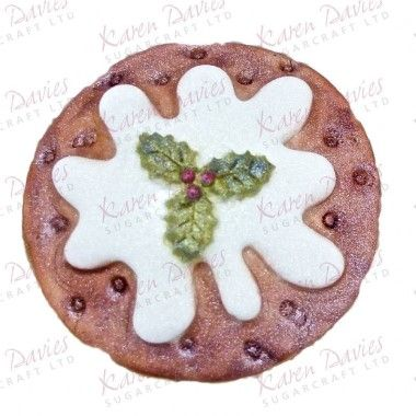 Karen Davies - Moulds - Christmas Pudding Cupcake Mould