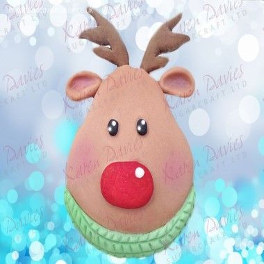 Karen Davies - Moulds - Rudolph Cupcake by Alice