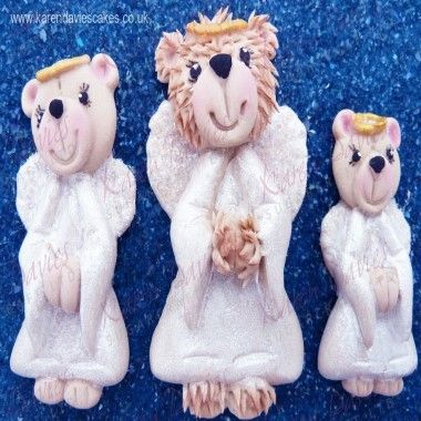 Karen Davies - Moulds - Teddy Angel