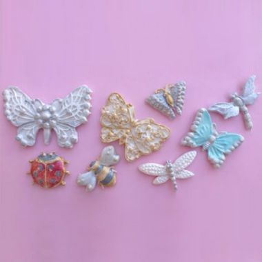 Karen Davies - Butterfly and Insect Brooch