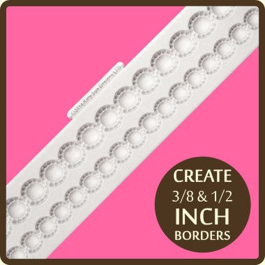 Katy Sue - Moulds - Beaded Pearl Border
