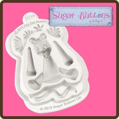 Katy Sue - Moulds - Sugar Buttons Lion