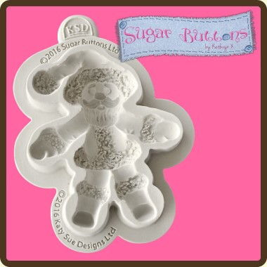 Katy Sue - Moulds - Sugar Buttons Santa
