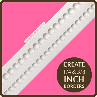 Katy Sue - Moulds - Shallow Pearl Border