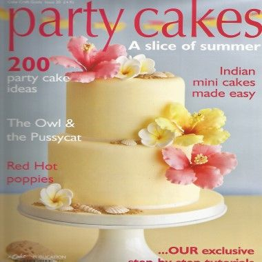 Cake Craft Guide   Party Cakes   Issue 20