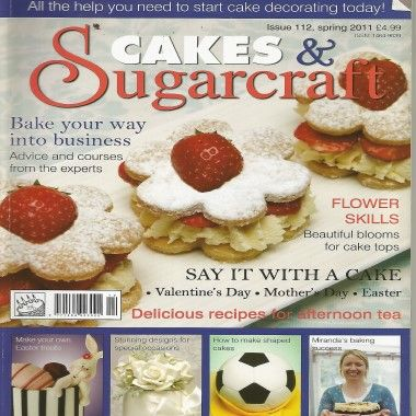 Cakes and Sugarcraft   Issue 112