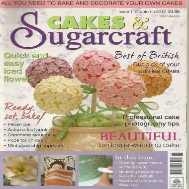 Cakes and Sugarcraft   Issue 118