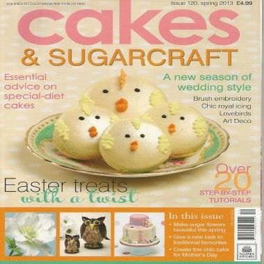 Cakes and Sugarcraft   Issue 120