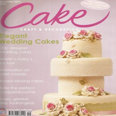 Cake Craft and Decoration   September 2012