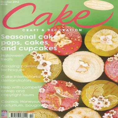 Cake Craft and Decoration   October 2012