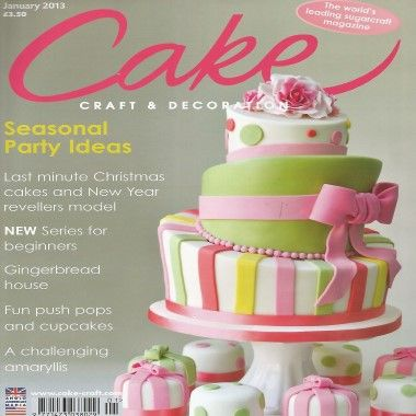 Cake Craft and Decoration   January 2012