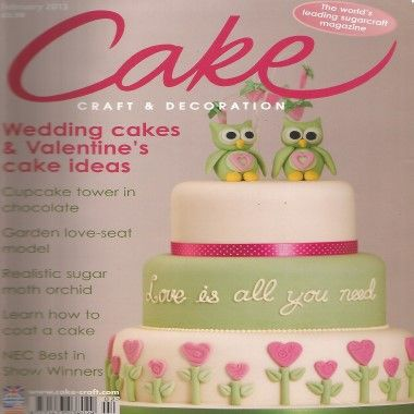 Cake Craft and Decoration   February 2013