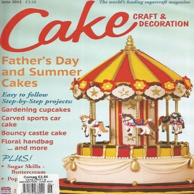 Cake Craft and Decoration   June 2013
