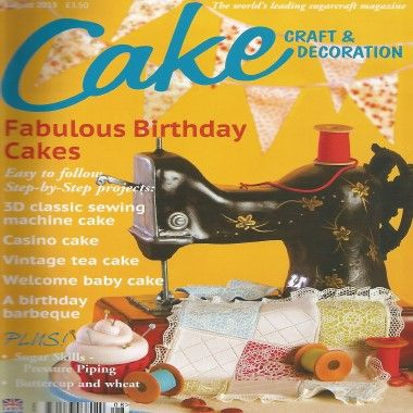 Cake Craft and Decoration   August 2013