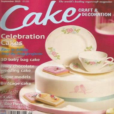 Cake Craft and Decoration   September 2013