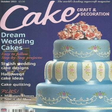 Cake Craft and Decoration   October 2013