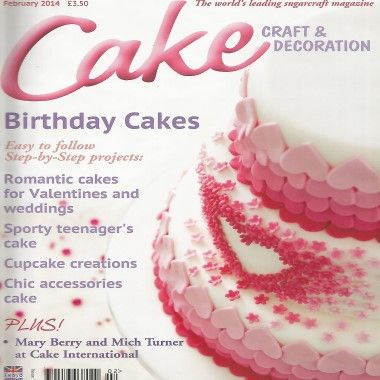 Cake Craft and Decoration   February 2014