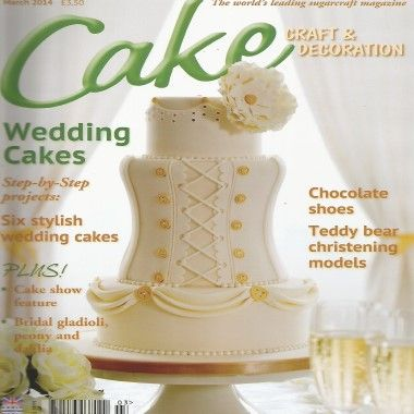 Cake Craft and Decoration   March 2014