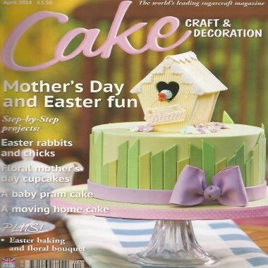Cake Craft and Decoration   April 2014