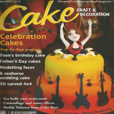 Cake Craft and Decoration   June 2014