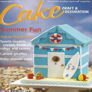 Cake Craft and Decoration   August 2014