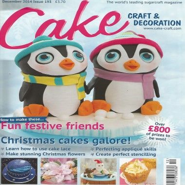Cake Craft and Decoration   December 2014