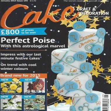 Cake Craft and Decoration - January 2015