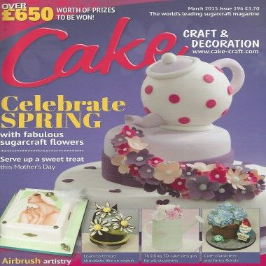 Cake Craft and Decoration   March 2015