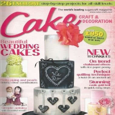 Cake Craft and Decoration - July 2015