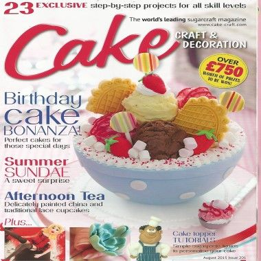 Cake Craft and Decoration - August 2015