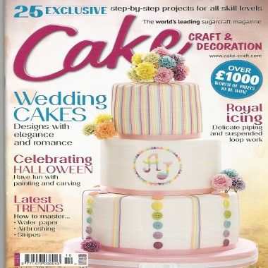 Cake Craft and Decoration - October 2015