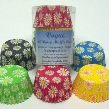 N J Products - Vogue Daisy Muffin Cases