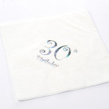 N J Products   30th Birthday Napkins
