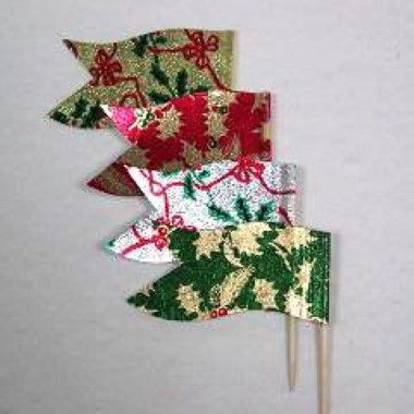 N J Products - Christmas Sandwich Flags