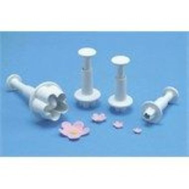 PME - Blossom/Forget-me-Not Plunger - Set of 4