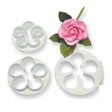 PME - 5 Pteal Flower Cutter - Set of 3