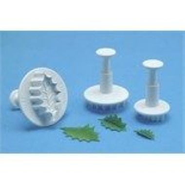 PME - Holly Leaf Plunger - Set of 3