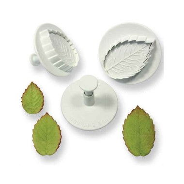 PME - Rose Leaf Plunger - Set of 3