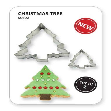 PME - Cookie n Cake Cutter - Christmas Tree