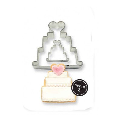PME - Cookie n Cake Cutter - Wedding Cake