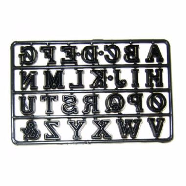Patchwork Cutters - Alphabet Capitals