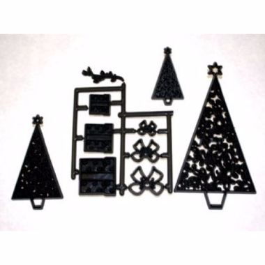Patchwork Cutters - Christmas Trees and Parcels