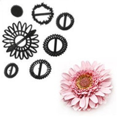 Patchwork Cutters - Gerbera Flower Set